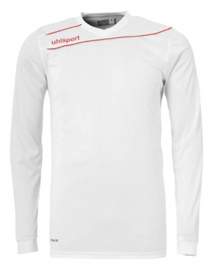 Stream 3.0 Playing Shirt LS White / Red